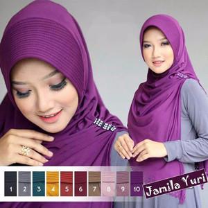 DISKON KEREN Jilbab Instan kerudung Hijab Syari Bergo Jamila