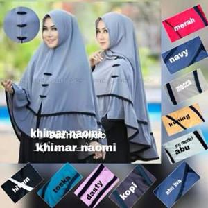 DISKON KEREN Hijab / Jilbab Instan Syari Khimar Naomi