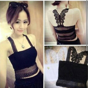 New Lace Butterfly Tangtop ..