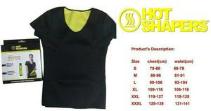 Hot Shaper Baju Atasan ada lengan gym fitness erobic ..