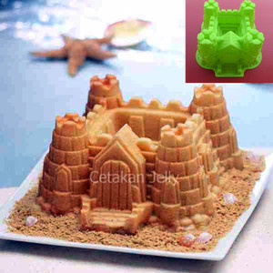 Cetakan Puding / Kue Castle