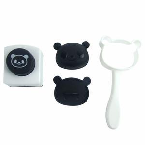 Panda Rice Mold Bento Nori Seaweed Puncher
