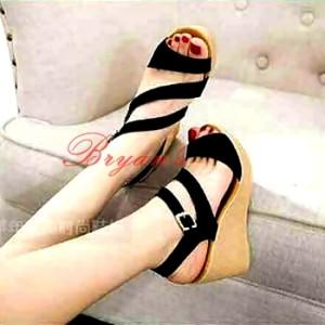 Sepatu Wanita Wedges Camila