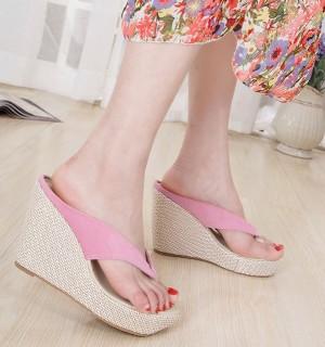 Sepatu Wanita Wedges Murah Japit / Gws-1098 Salem