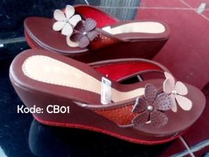 Sepatu Wanita Wedges Cb01