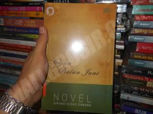 Buku novel Hujan Bulan Juni By Sapardi Djoko Damono