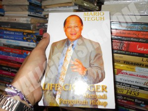 Buku novel Mario Teguh ( Life Changer )