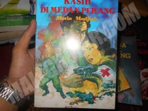 Buku novel kasih di medan perang