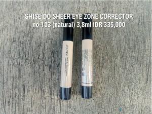 sheer eye zone corrector