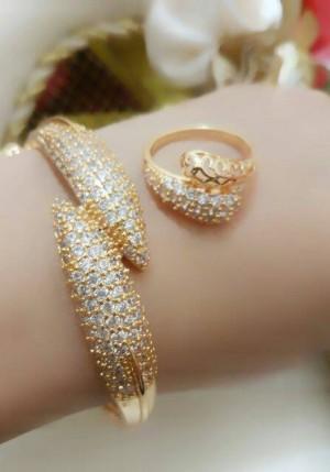 gelang tangan dan cincin xuping
