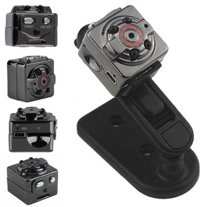 Kamera Pengintai SQ8 Mini DV Camera Full HD 1080p Car DVR Aluminium