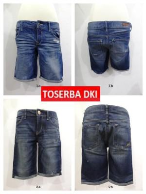 Celana Jeans Pendek wanita sisa expor merk Express CW01
