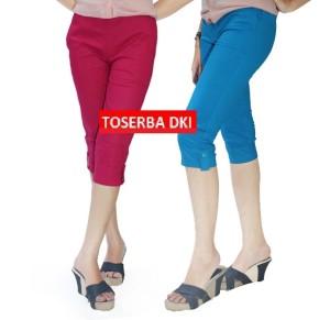 Celana Pendek 3R: Katun Stretch: Bawah Lutut: Size M - XXXL Jumbo CW18