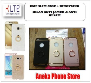Slimcase Chrome + RingStand Oppo F1S Original Product Ume
