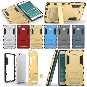 CASE ROBOT XIAOMI REDMI 3S 3 PRO 3PRO HARD BACK CASE KICK STAND CASING