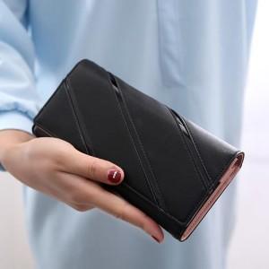DP725 Dompet Korea Dompet Import Dompet Wanita panjang Fashion murah