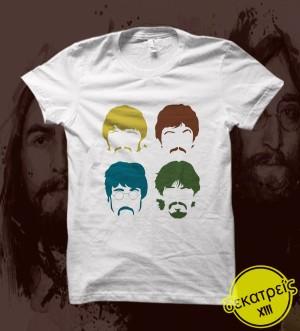 Kaos Musik Band The Beatles