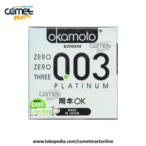 KONDOM OKAMOTO | PLATINUM, 0.03mm - 3 pcs