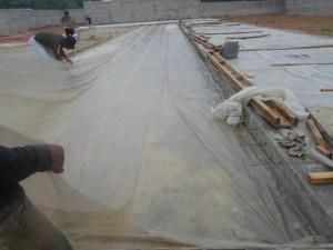 Plastik PE Penutup Tanaman / Bibit /PE COR ukr 0,08 x 100cm x 25m