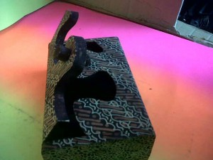 Kotak Tisu Batik Kayu