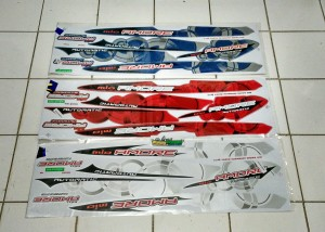 Striping thailand mio sporty amore