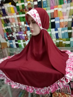 jilbab bertali