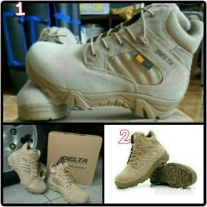 new sepatu delta- tracking hiking touring airsofter ori made USA