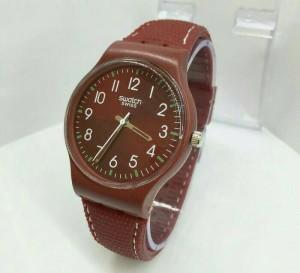 jam tangan murah utk pria/wanita - swatch 1301 + box ekslusif