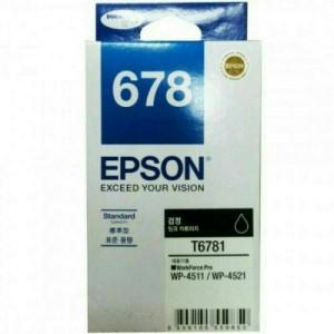 Tinta Epson Cartridge 678 Black Original