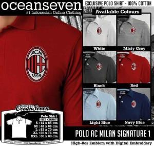 Polo Ocean Seven AC Milan