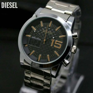 DIESEL DS011 SILVER BLACK ORANGE