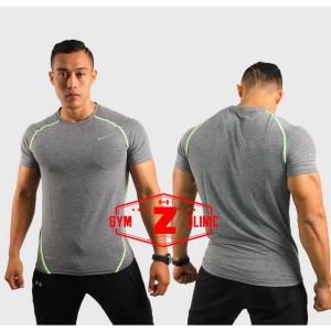Kaos Tshirt Nike Grey DriFit Series