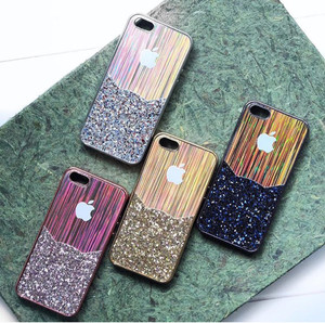 METALIC GLITTER CASE IPHONE 5/5S/SE/6/6S/6 PLUS/7/7 PLUS