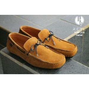 SEPATU REYL NEW LICK CAMEL | REYL FOOTWEAR | 100% ORIGINAL|SEPATU PRIA