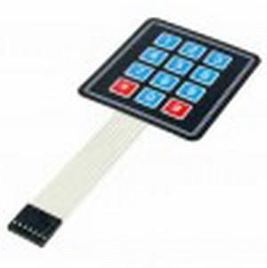Produk 3x4 Matrix Keypad Membran