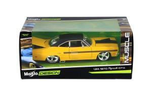 1/24 Plymouth GTX 1940 (yellow/black) Maisto Design - RARE ITEM