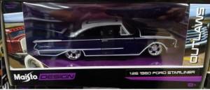 1/26 Ford Starliner 1960 (purple/white) Maisto Design - RARE ITEM