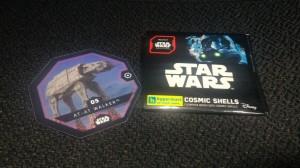 Star Wars Cosmic Shell Hypermart # 05 AT-AT Walker