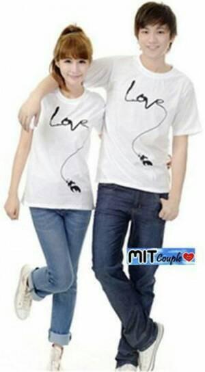 BAJU COUPLE LONG LOVE