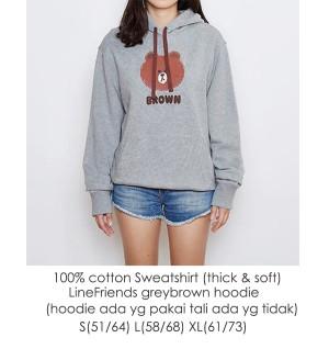Sweater Branded LineFriends Hoodie