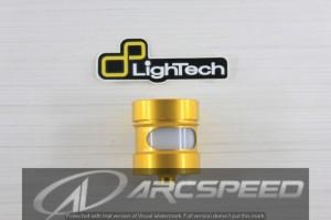 Tabung Rem Lightech DOT4 Alumunium CNC Gold