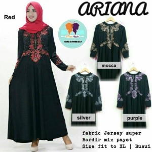 grosir murah baju Ariana dress payet black