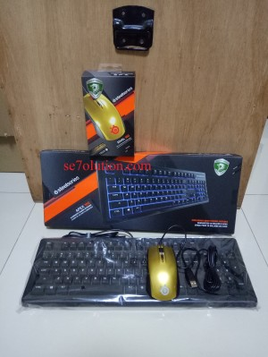 [PAKET] Steelseries Keyboard APEX 100 + Mouse Alchemy Gold Rival 100