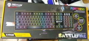 Rexus Gaming Keyboard Fortress K9RGB