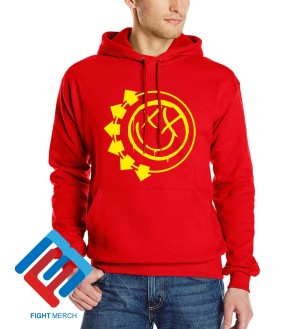 Hoodie Blink 182 Logo Red - Fightmerch