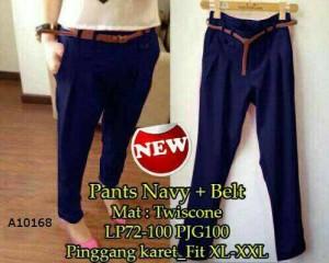 Celana Panjang Pants Navy jumbo XL