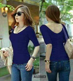 Blouse Polos Laura Navy