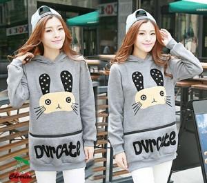 FG - [sweater durcate CR] pakaian wanita sweater warna abu