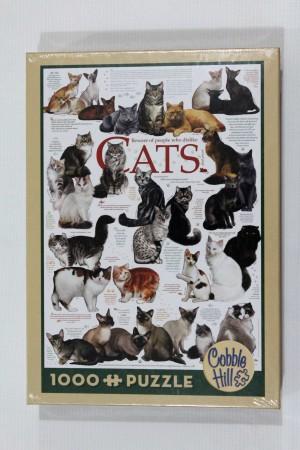 Jigsaw Puzzle Cobble Hill : Cat Quotes - 1000 pieces