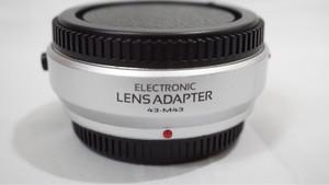 Lens Adapter - Auto Focus 4/3 Lens to Olympus M 4/3 / 4/3 - M4/3
